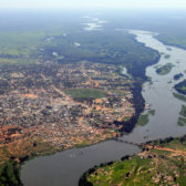 Aerial view of Juba