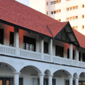 Old post office in Dar es Salaam.